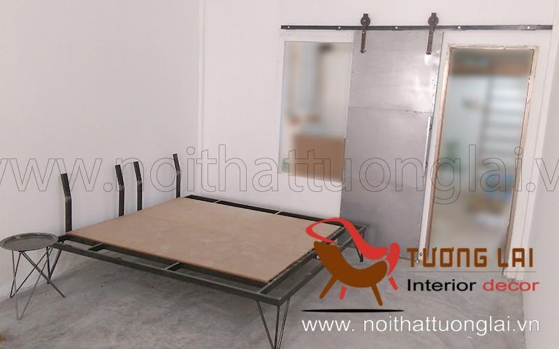 Gia công sắt giường kiểu cổ điển
