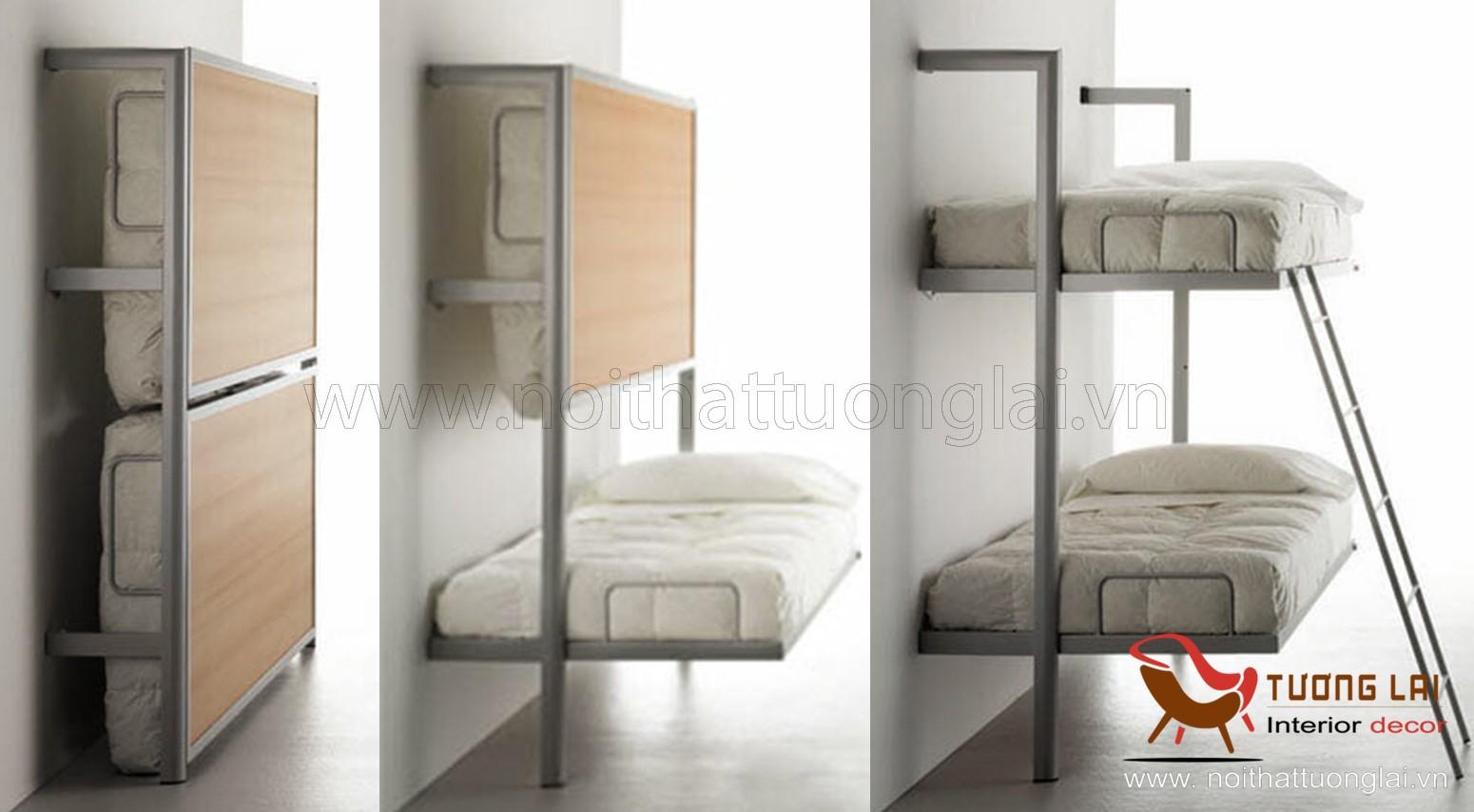 giường tầng gấp gọn