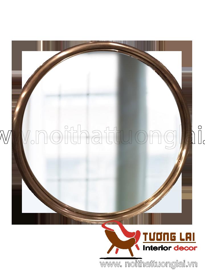 Gia công inox khung gương si đồng cổ